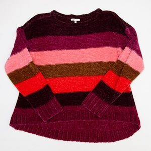 Maurices Stripe Chenille Sweater